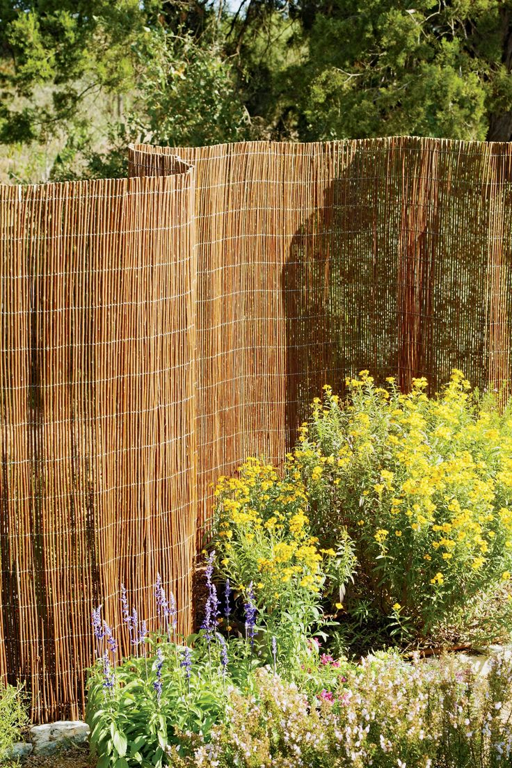 Image result for Bamboo garden fences
