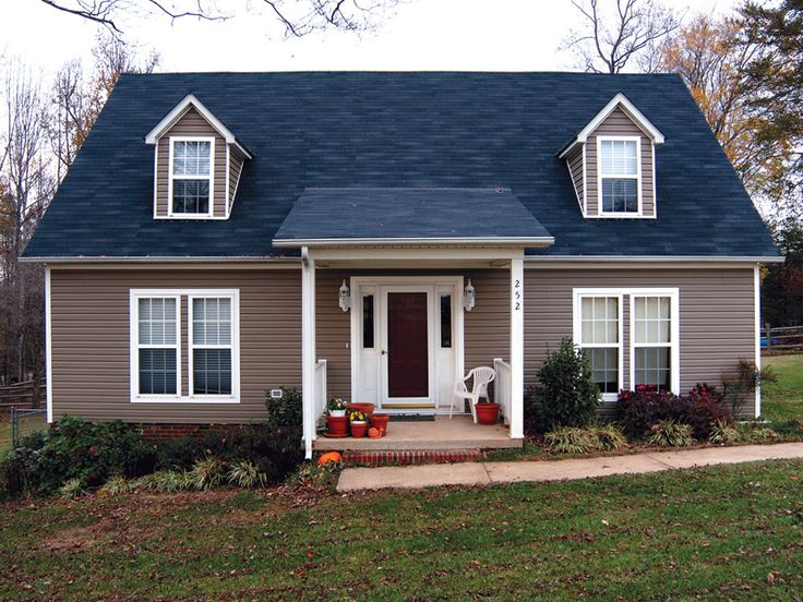 Image result for blue roof Cape cod house style