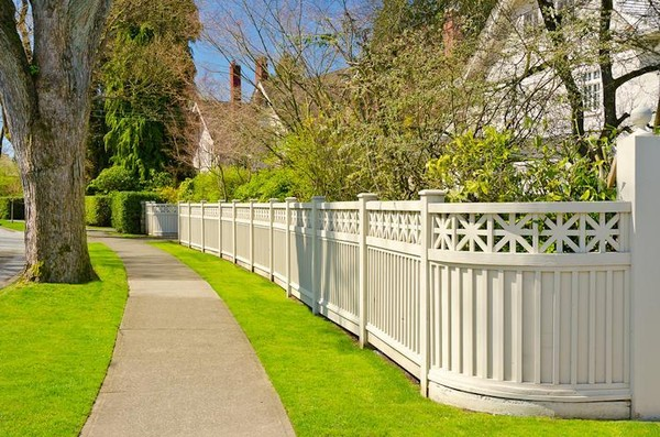 Image result for boundary lines garden fences