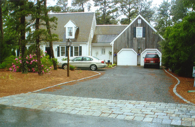 Image result for Cape Cod house driveway