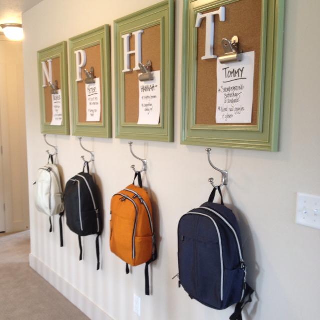Image result for cork board individual bag holder