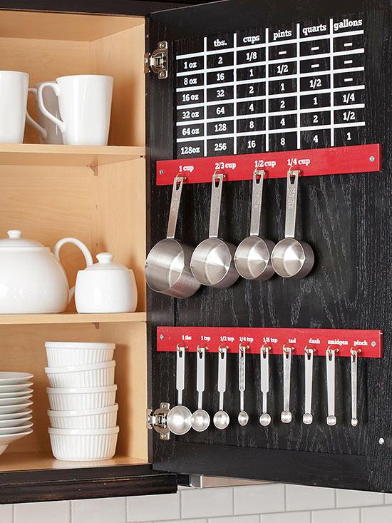 Kitchen Cabinet Organization Small Space