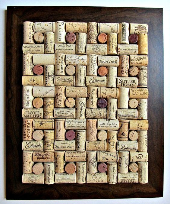 Image result for cork board wine cork