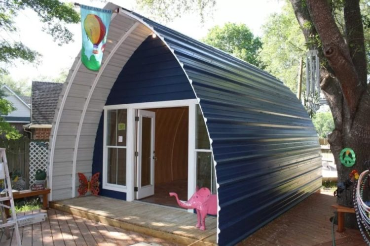 Image result for kids quonset hut homes