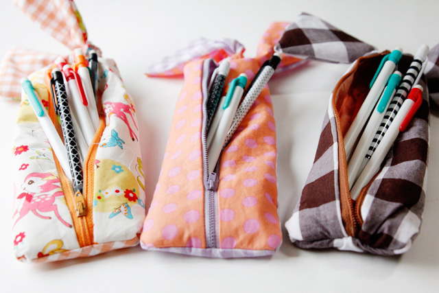 Image result for knotted zipper diy pencil case