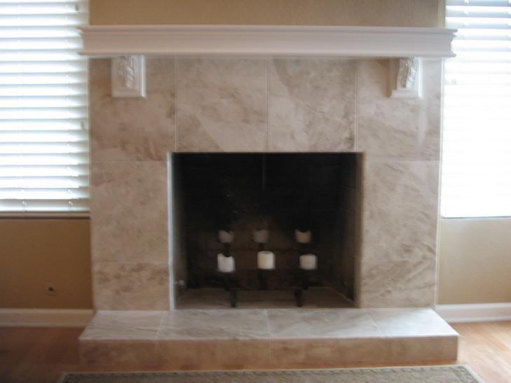 Image result for Marble fireplace tiles