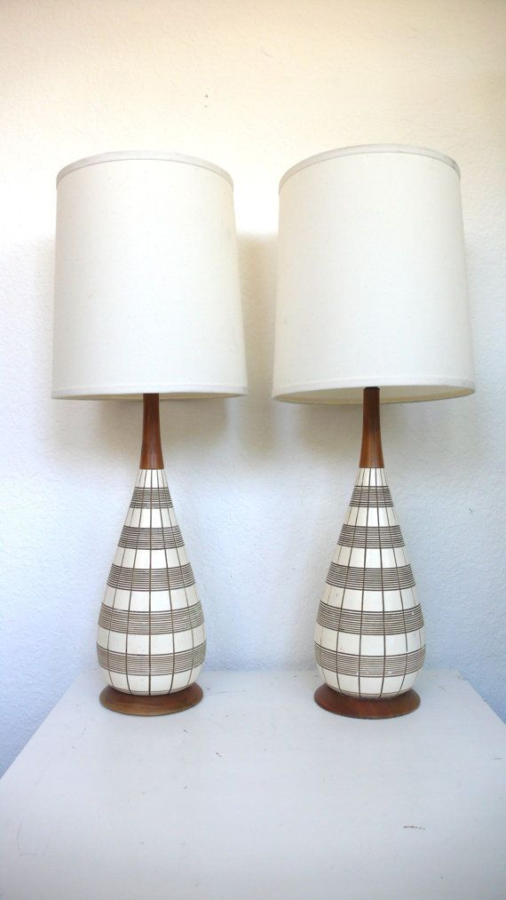 Image result for mid-century modern bedroom retro lamps