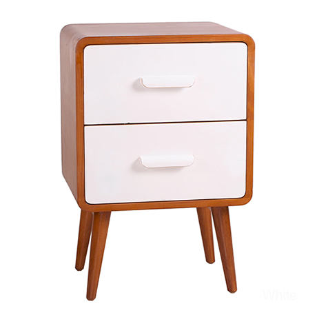 Image result for mid-century modern bedroom two-toned tables