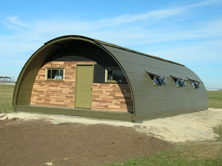 Image result for Military quonset hut homes