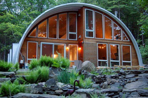Image result for modern quonset hut homes
