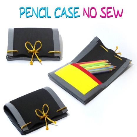 Image result for no sew diy pencil case