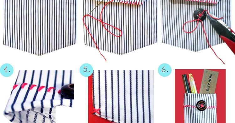 Image result for notebook glued pocket diy pencil case