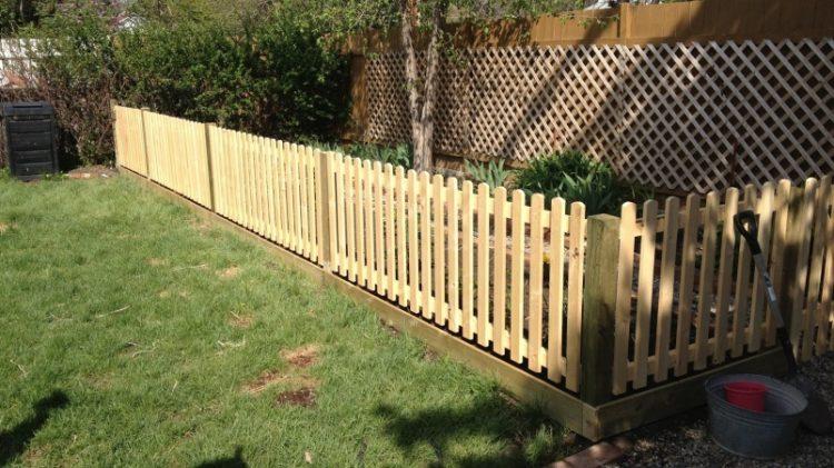 Image result for oak garden fences