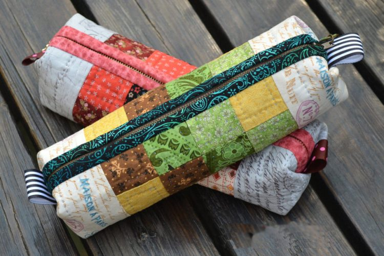 Image result for patchwork diy pencil case