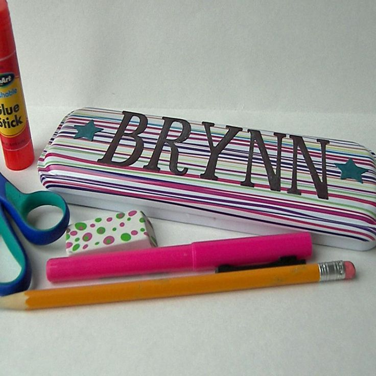 Image result for personalized diy pencil case