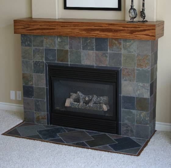 Image result for slate fireplace tiles