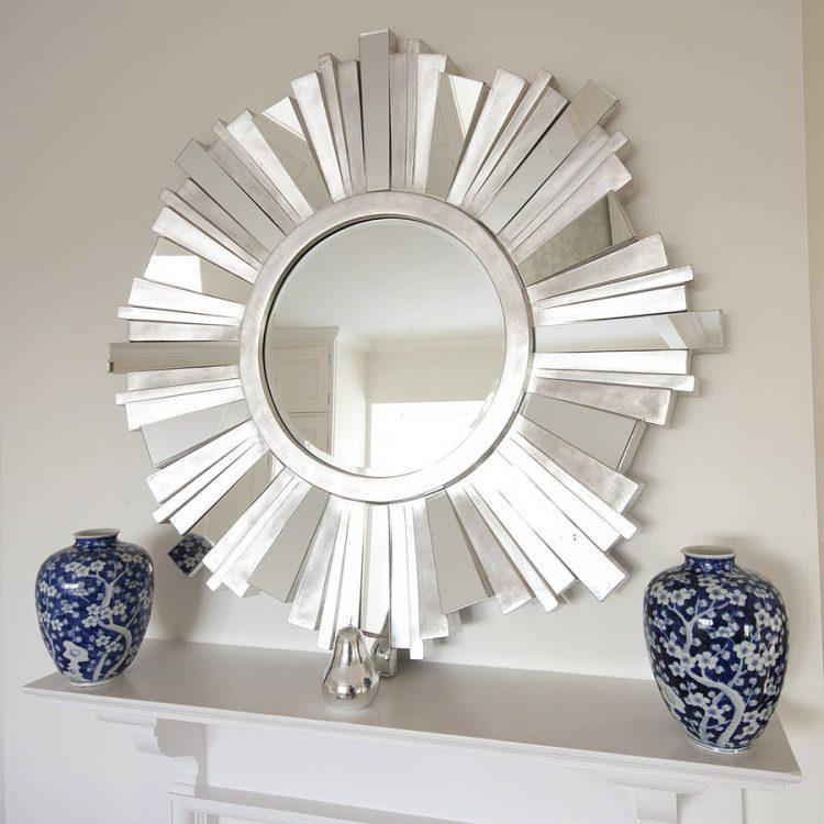 Image result for sunburst diy vanity mirror