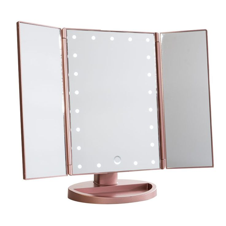 Image result for tri-fold diy vanity mirror