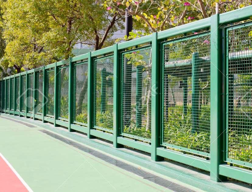 Steel Garden Fencing Stel Fence Ideas