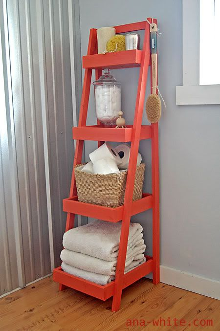 Make Your Stairs Rack the Linen Closet