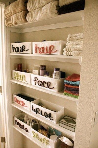 Doorless is the New Leading Linen Closet Idea