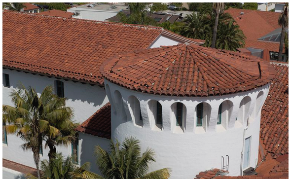 Spanish Architecture in California's Santa Barbara