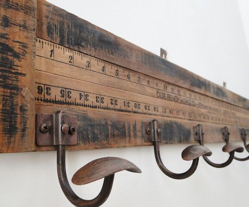 Ruler Hat Racks