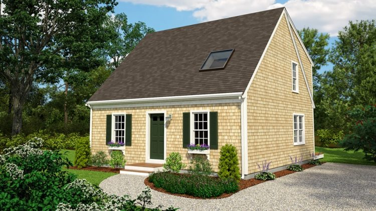 Another small cape cod house design that will make you feel like home