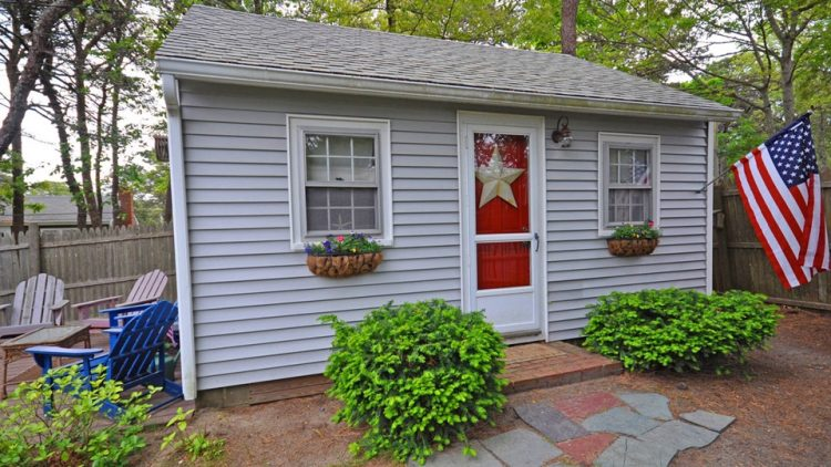 More on a cape cod tiny house