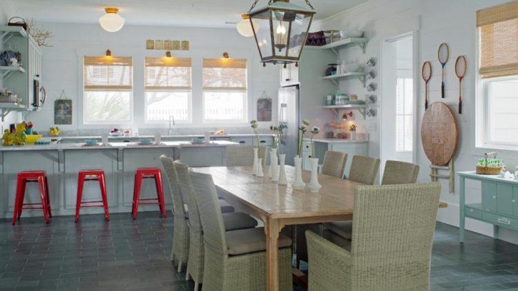 The cape cod kitchen design