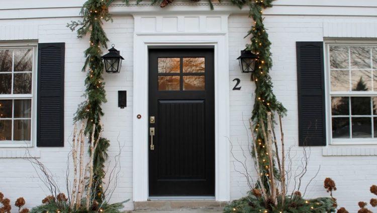 The cape cod front door
