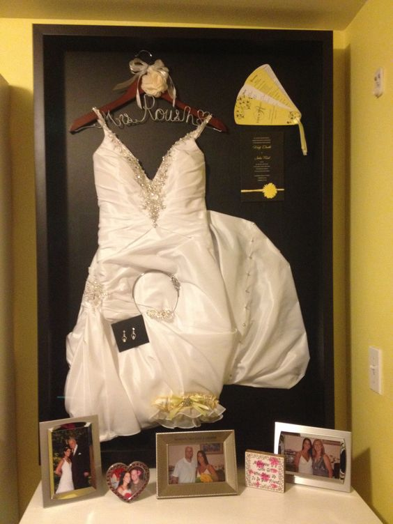 wedding dress shadow box 20 shadow box ideas and creative displaying 9253