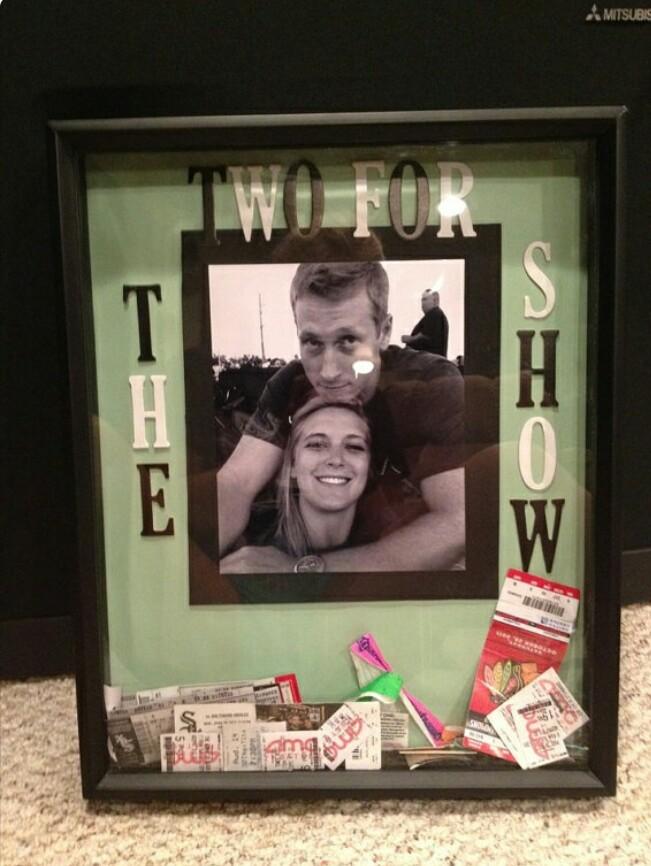 Shadow Box Ideas For Boyfriend