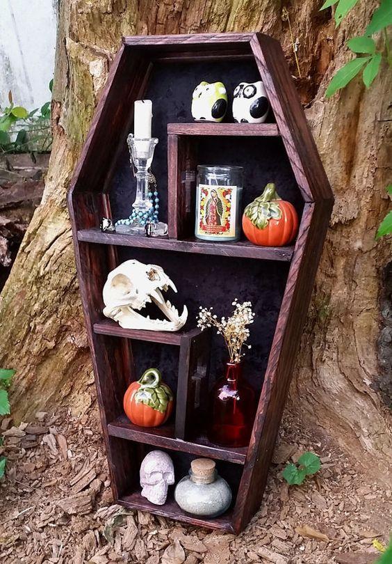 DIY Display Case (Coffin Display Case)