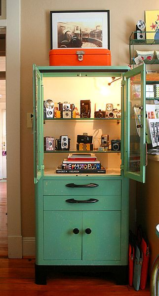 Turquoise Display Case