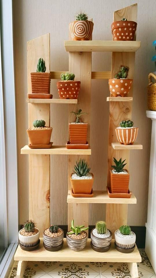 24 diy plant stand ideas to fill your home with greenery - Estanterias metalicas para casa ...