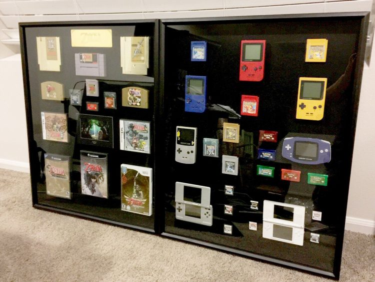 A DIY Game Display Case
