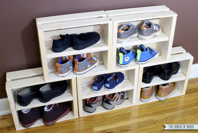 Another DIY Shoe Display Case