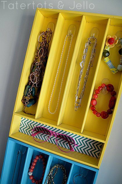 A Brightly-Coloured DIY Jewelry Box