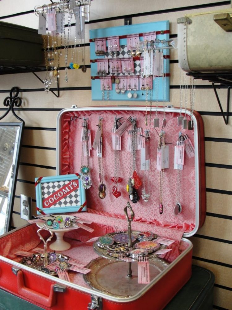 A Pink Suitcase for Your DIY Jewelry Box