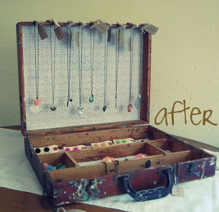 Another Suitcase for Your DIY Jewelry Box Idea