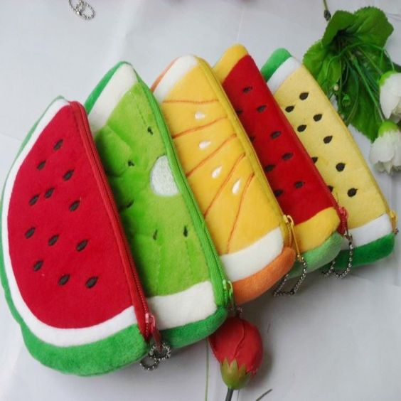 DIY Pencil Case Fruit