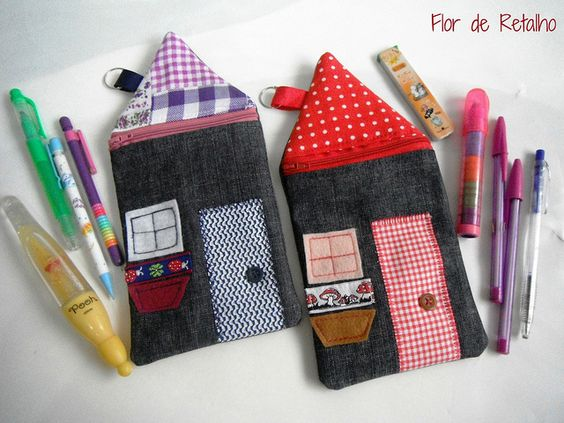House Pencil Case