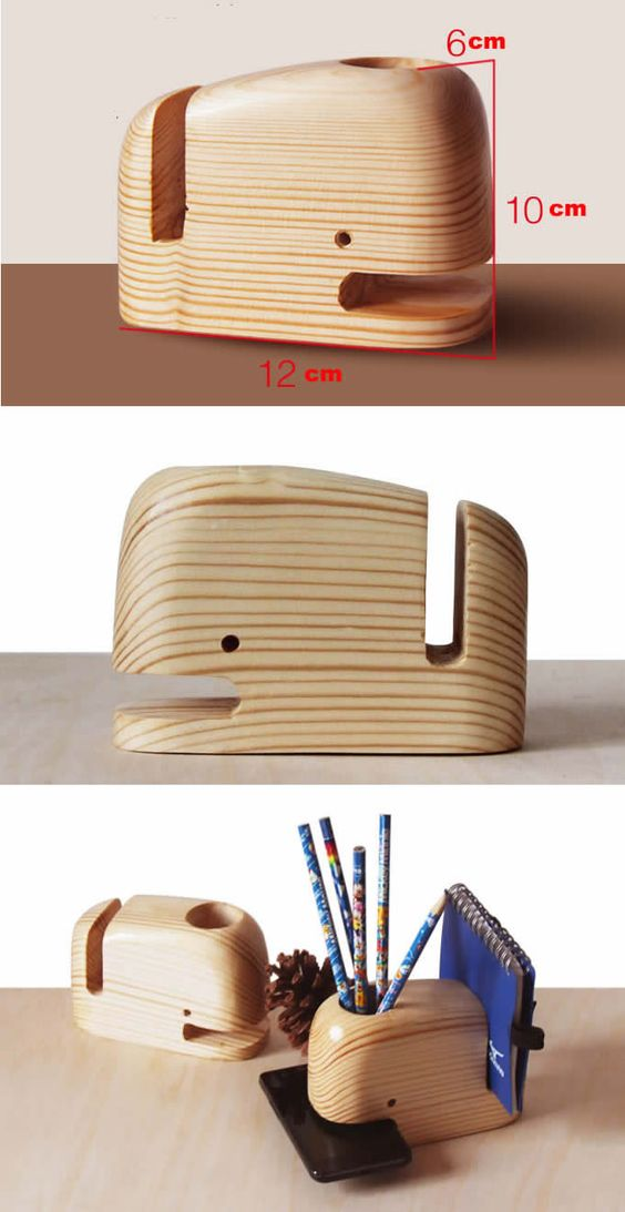 Creative Pen Stand Designs : Cheap and clever ideas for diy phone stand