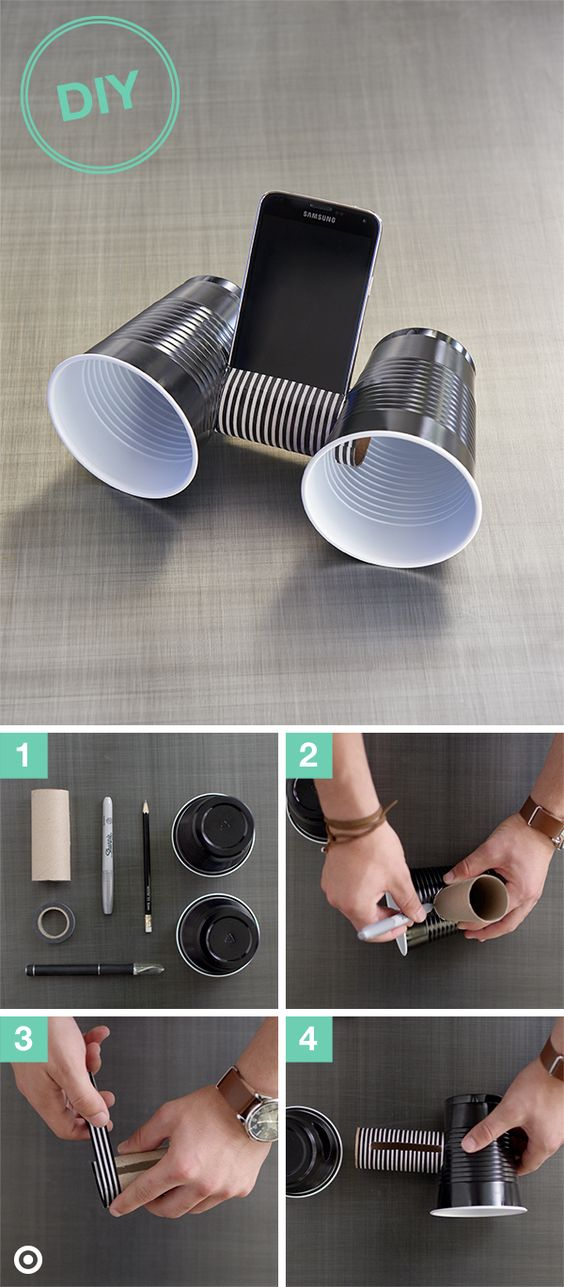 15 Cheap And Clever Ideas For Diy Phone Stand