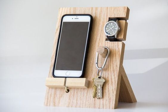 Wood Phone Stand Ideas