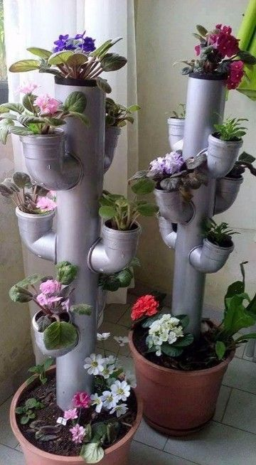 Creative Plant Stand
