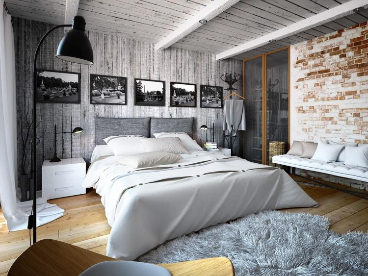 Artsy Bedroom for The Independent Souls