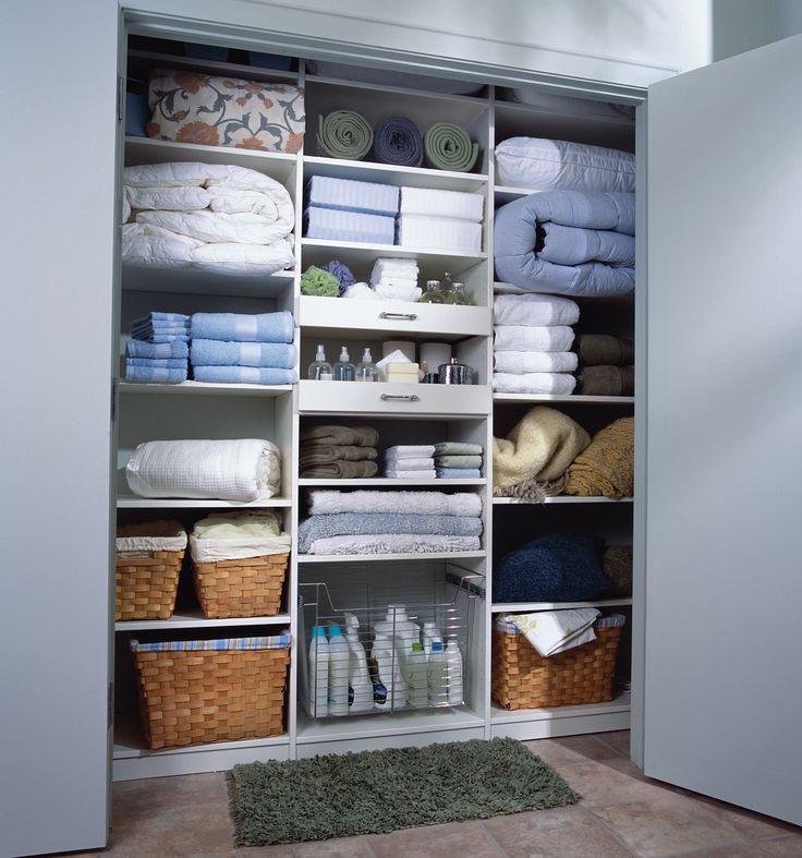 Closet Bags as Linen Storage