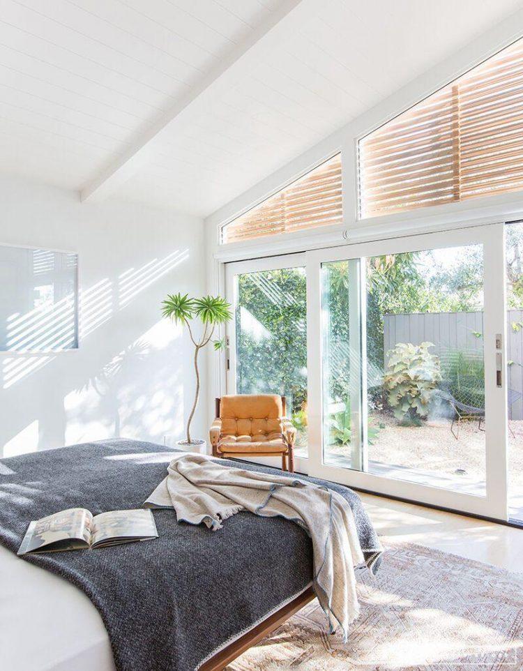 Minimalist Mid-Century Bedroom, When Everything Seems White